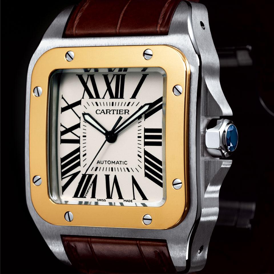 O Primeiro Relógio de Pulso: Cartier Santos