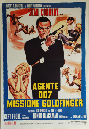 007 contra Goldfinger (1964): Rolex Submariner