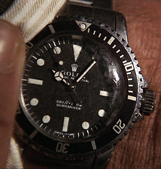007 Contra o homem com a pistola de ouro: Rolex Submariner