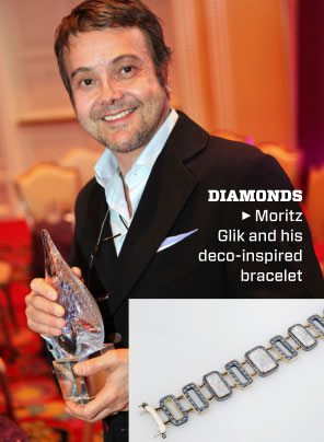 bracelete de diamantes vencedor de couture awards 2012