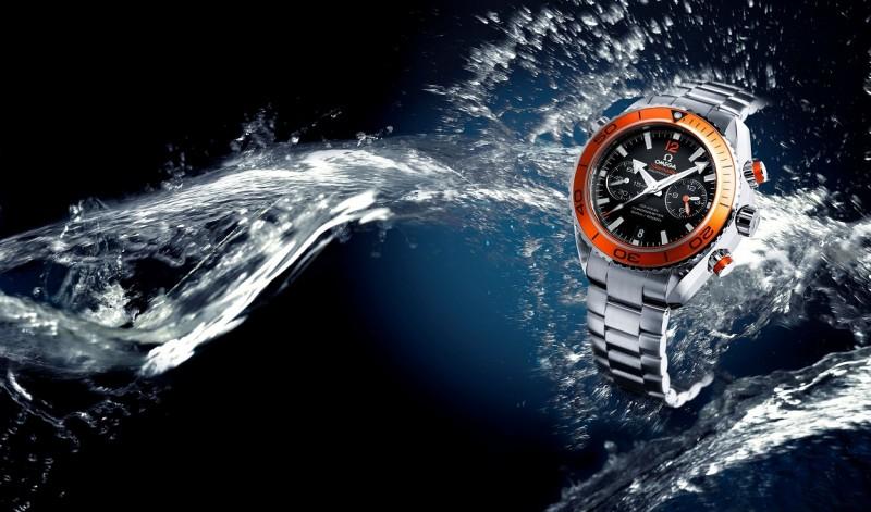 Relógio Omega Waterproof