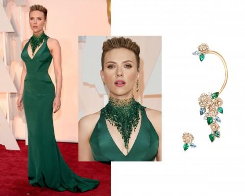 Scarlett Johansson no tapete vermelho