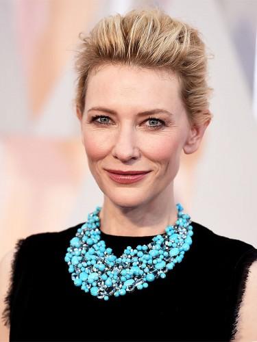 Cate Blanchett no tapete vermelho