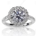 Vendendo o anel solitário de noivado após o divórcio para especialistas em diamantes